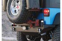 Jeep Tj Rear Bumper with Tire Carrier Plans Rock Hard 4x4™ Patriot Series Rear Bumper with Tire Carrier for Jeep