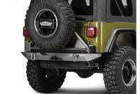 Jeep Wrangler Tj Rear Bumper with Tire Carrier Poison Spyder Jeep Wrangler Rockbrawler Rear Bumper W Tire Carrier