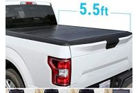 Truck tonneau Covers Near Me Amazon Syneticusa Aluminum Hard Folding tonneau Cover Tri Fold