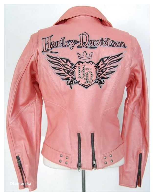 Harley Davidson Jacket Women M Medium Pink Leather Biker Motor Cycle Queen Hot Clothing Shoes & Accessories Women s Clothing Coats & Jackets